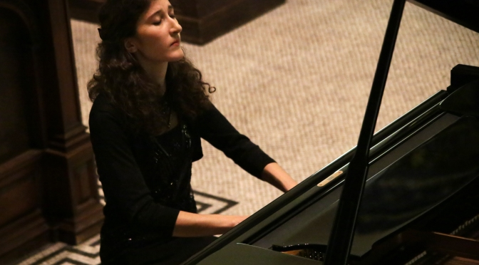 Nathalia Milstein @ St Ann's Church, Dublin (11 October 2016)