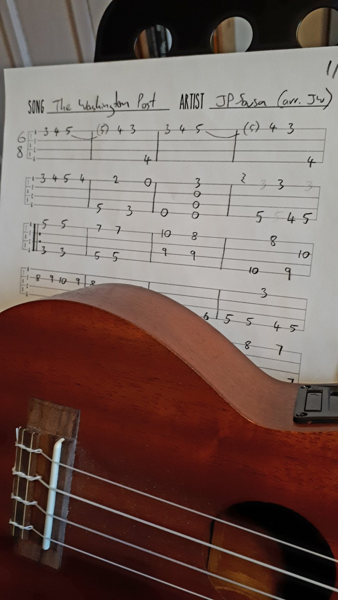 Check out this classic American march arranged for ukulele