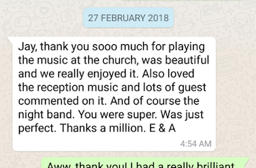 Testimonial from Eimear and Aonghus